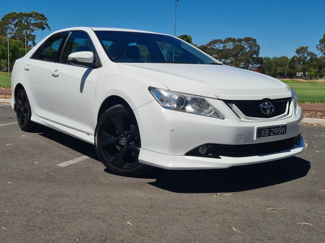 Used Toyota Aurion GSV50R Sportivo Nailsworth, 2015 Toyota Aurion GSV50R Sportivo White 6 Speed Sports Automatic Sedan