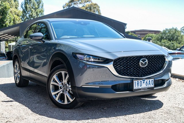 Used Mazda CX-30 DM2W7A G20 SKYACTIV-Drive Astina Mornington, 2019 Mazda CX-30 DM2W7A G20 SKYACTIV-Drive Astina 46g 6 Speed Sports Automatic Wagon