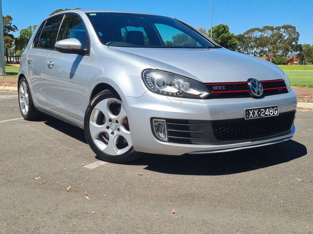 Used Volkswagen Golf VI MY11 GTI DSG Nailsworth, 2011 Volkswagen Golf VI MY11 GTI DSG Silver 6 Speed Sports Automatic Dual Clutch Hatchback