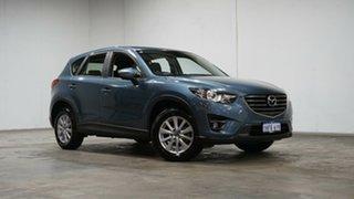 2016 Mazda CX-5 KE1072 Maxx SKYACTIV-Drive FWD Sport Blue 6 Speed Sports Automatic Wagon.