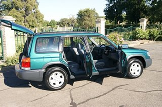 1998 Subaru Forester GX Green 4 Speed Automatic Wagon