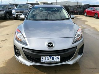 2012 Mazda 3 BL Series 2 Neo Silver Manual Sedan