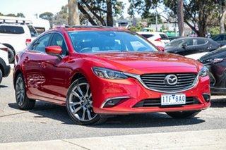 2016 Mazda 6 GJ1032 GT SKYACTIV-Drive Soul Red 6 Speed Sports Automatic Sedan.