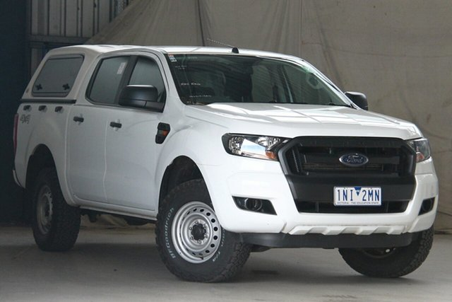 Used Ford Ranger PX MkII MY18 XL 3.2 Plus (4x4) Altona North, 2018 Ford Ranger PX MkII MY18 XL 3.2 Plus (4x4) White 6 Speed Automatic Crew Cab Utility