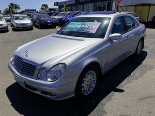 2005 Mercedes-Benz E350 211 MY06 Upgrade Elegance Silver 7 Speed Automatic G-Tronic Sedan.