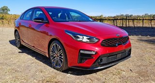 2020 Kia Cerato BD MY21 GT DCT Runway Red 7 Speed Automatic Sedan.