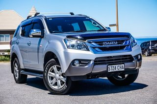 2016 Isuzu MU-X MY15.5 LS-T Rev-Tronic Silver 5 Speed Sports Automatic Wagon.