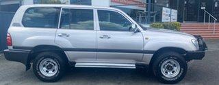 1999 Toyota Landcruiser HZJ105R GXL Silver 5 Speed Manual Wagon.