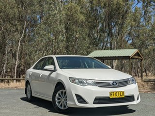 2013 Toyota Camry ASV50R Altise White 6 Speed Sports Automatic Sedan.