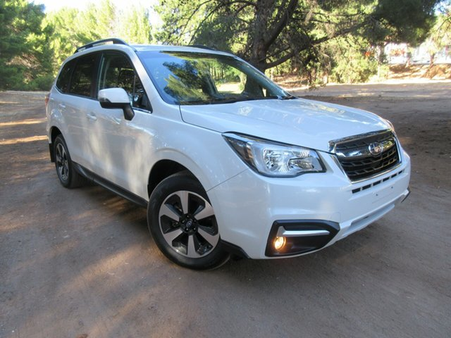 Used Subaru Forester S4 MY18 2.0D-L CVT AWD Reynella, 2018 Subaru Forester S4 MY18 2.0D-L CVT AWD White 7 Speed Constant Variable Wagon