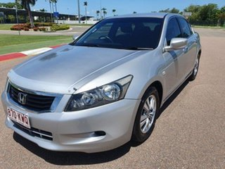 2008 Honda Accord 8th Gen VTi Alabaster Silver 5 Speed Sports Automatic Sedan