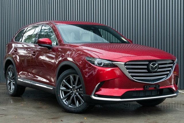 Demo Mazda CX-9 TC Azami SKYACTIV-Drive i-ACTIV AWD Mornington, 2020 Mazda CX-9 TC Azami SKYACTIV-Drive i-ACTIV AWD Soul Red Crystal 6 Speed Sports Automatic Wagon
