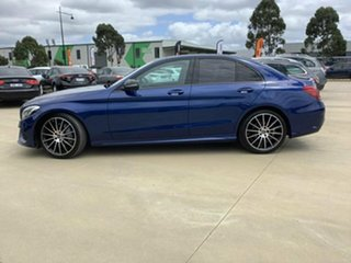 2017 Mercedes-Benz C-Class W205 C200 Blue Sports Automatic Sedan