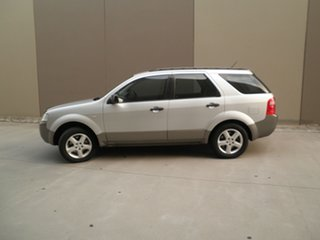 2006 Ford Territory SY TS Silver & Grey 4 Speed Sports Automatic Wagon