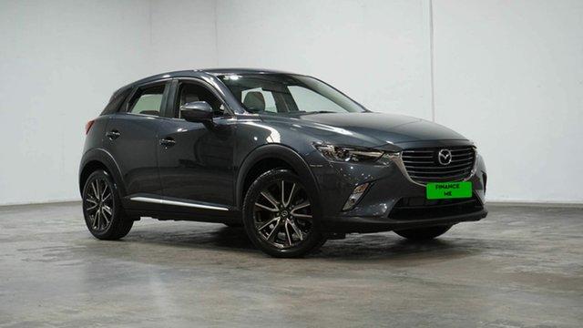 Used Mazda CX-3 DK4W7A Akari SKYACTIV-Drive i-ACTIV AWD Welshpool, 2015 Mazda CX-3 DK4W7A Akari SKYACTIV-Drive i-ACTIV AWD Grey 6 Speed Sports Automatic Wagon