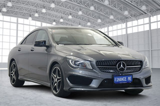 2014 Mercedes-Benz CLA-Class C117 CLA200 DCT Grey 7 Speed Sports Automatic Dual Clutch Coupe.