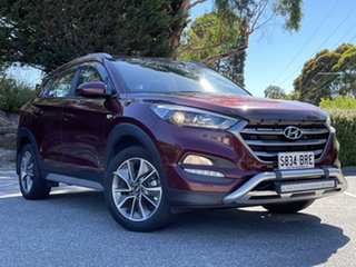 2017 Hyundai Tucson TL MY18 Active X 2WD Ruby Wine 6 Speed Sports Automatic Wagon.