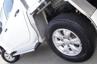 2013 Mitsubishi Triton MN MY13 GLX Double Cab White Solid 5 Speed Manual Utility