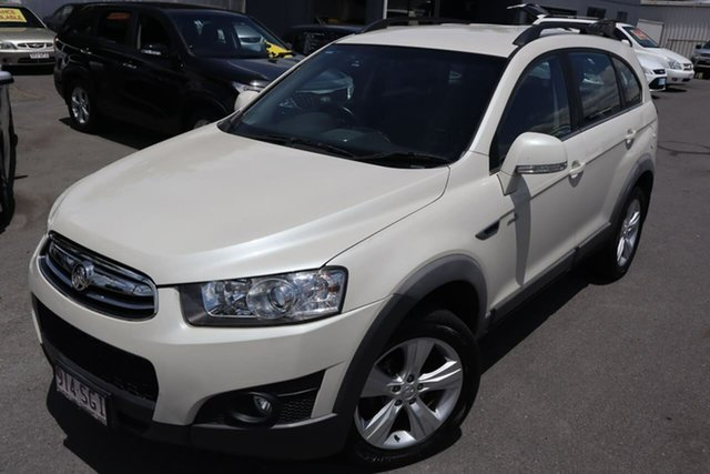 Used Holden Captiva CG Series II MY12 7 AWD CX Moorooka, 2012 Holden Captiva CG Series II MY12 7 AWD CX White 6 Speed Sports Automatic Wagon