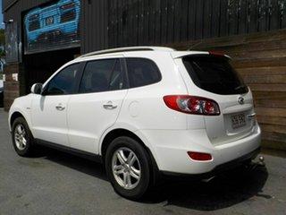 2010 Hyundai Santa Fe CM MY10 Elite White 6 Speed Sports Automatic Wagon