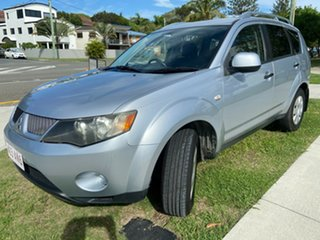 2007 Mitsubishi Outlander ZG MY07 VR Silver 6 Speed Sports Automatic Wagon