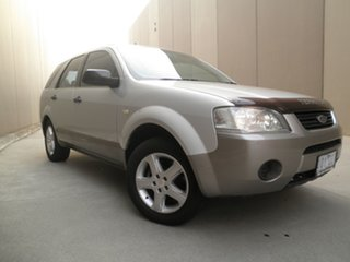 2006 Ford Territory SY TS Silver & Grey 4 Speed Sports Automatic Wagon.