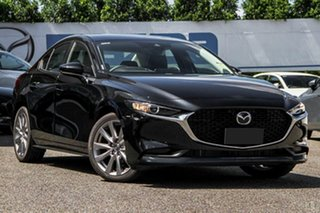 2020 Mazda 3 BP2S7A G20 SKYACTIV-Drive Evolve Black 6 Speed Sports Automatic Sedan.