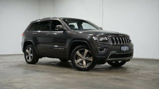 2016 Jeep Grand Cherokee WK MY15 Limited Granite Crystal 8 Speed Sports Automatic Wagon.
