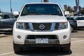 2013 Nissan Navara D40 S6 MY12 ST White 5 Speed Sports Automatic Utility