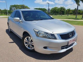 2008 Honda Accord 8th Gen VTi Alabaster Silver 5 Speed Sports Automatic Sedan.