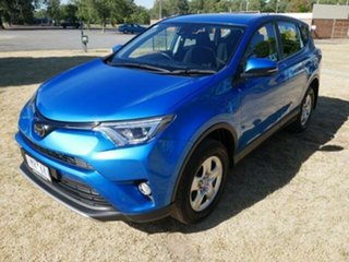 2018 Toyota RAV4 ASA44R MY18 GX (4x4) Blue Gem 6 Speed Automatic Wagon