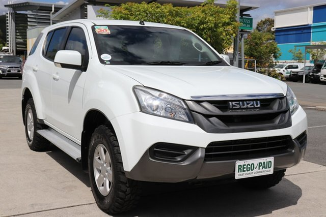 Used Isuzu MU-X MY15 LS-M Rev-Tronic Robina, 2016 Isuzu MU-X MY15 LS-M Rev-Tronic White 5 speed Automatic Wagon