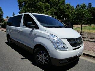 2010 Hyundai iMAX TQ White 4 Speed Automatic Wagon.