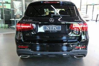 2018 Mercedes-Benz GLC-Class X253 808MY GLC250 9G-Tronic 4MATIC Black 9 Speed Sports Automatic Wagon