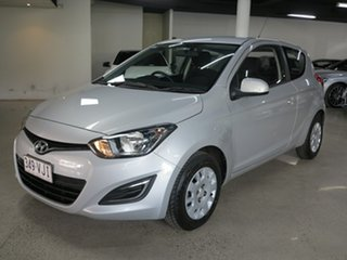 2014 Hyundai i20 PB MY15 Active Silver 6 Speed Manual Hatchback