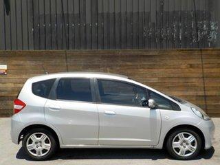 2012 Honda Jazz GE MY12 GLi Silver 5 Speed Manual Hatchback.