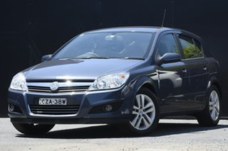 2008 Holden Astra AH MY08 CDX Blue 4 Speed Automatic Hatchback.
