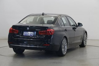 2016 BMW 3 Series F30 LCI 320i Luxury Line Black 8 Speed Sports Automatic Sedan