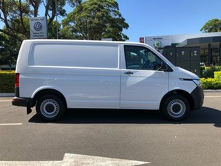2020 Volkswagen Transporter T6.1 MY21 TDI340 SWB DSG White 7 Speed Sports Automatic Dual Clutch Van.
