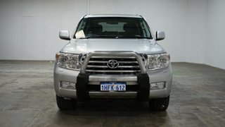 2010 Toyota Landcruiser VDJ200R MY10 Sahara Silver 6 Speed Sports Automatic Wagon