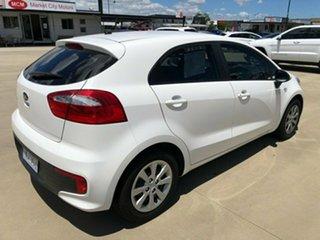 2016 Kia Rio UB S White Sports Automatic Hatchback.