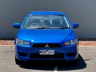 2008 Mitsubishi Lancer CJ MY09 ES Blue 6 Speed Constant Variable Sedan.