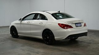 2014 Mercedes-Benz CLA-Class C117 CLA200 DCT White 7 Speed Sports Automatic Dual Clutch Coupe.