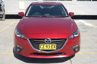2016 Mazda 3 BM5436 SP25 SKYACTIV-MT Red 6 Speed Manual Hatchback.