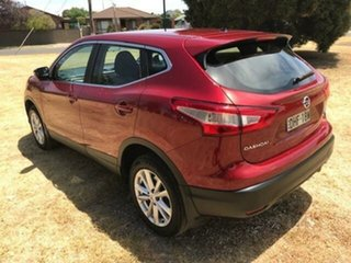 2016 Nissan Qashqai J11 ST Red Continuous Variable Wagon
