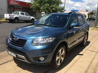 2011 Hyundai Santa Fe CM Highlander Blue Sports Automatic.