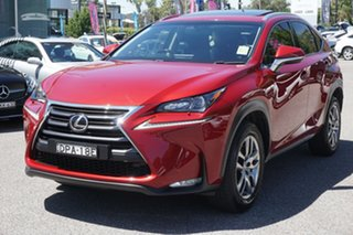 2017 Lexus NX AGZ10R NX200t 2WD Luxury Red 6 Speed Sports Automatic Wagon