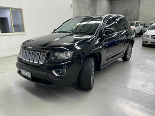 2014 Jeep Compass MK MY15 Limited CVT Auto Stick Black 6 Speed Constant Variable Wagon.