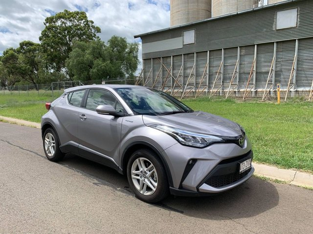 Demo Toyota C-HR NGX50R S-CVT AWD Oakey, 2020 Toyota C-HR NGX50R S-CVT AWD Shadow Platinum 7 Speed Constant Variable Wagon