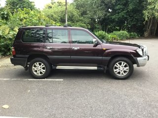 2003 Toyota Landcruiser UZJ100R GXL Maroon 5 Speed Manual Wagon.